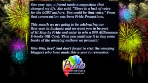 Pride-1year